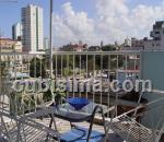 apartamento de 2 y medio cuartos $60000 cuc  en calle 5ta vedado, plaza, la habana
